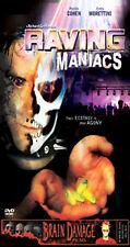 RAVING MANIACS rare Horror dvd Rave Party Bad Trip EMILY MORETTINI Brain Damage