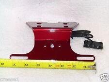 YAMAHA XJ6 Fender Eliminator Tail Tidy RED NTS PL 2009 2010 2011 2012