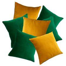 Velvet Scatter Cushions - Emerald Green; Gold, Teal, Navy, Pink + more - UK made