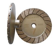 "5"" Disco turbo diamond cup wheel/wheels(coarse) -- excellent balance, aggressive"