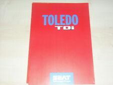 31702) Seat Toledo TDI Prospekt 1995