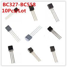 10Pcs/Lot BC327-BC558 BC 547 557 550 558 548 337 NPN Transistor Triode TO-92