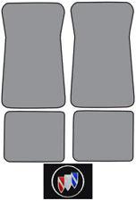 1985-1990 Buick Electra Park Avenue Cutpile Carpet Logo Floor Mat 4pc