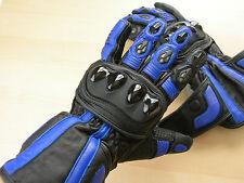 Palm Sliders - Leather - Motorcycle Gloves - Gauntlet half price of Alpine Stars