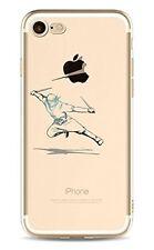 iPhone 7  Coque transparente souple fantaisie ( Samourai )