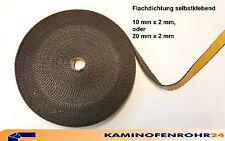 Dichtband selbstklebend ideal für Scheibendichtung Smoker 10x2 oder 20x2 mm
