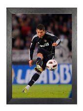 Cristiano Ronaldo TIRO REAL MADRID PORTOGHESE PROFESSIONALE CALCIATORE Poster