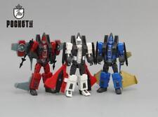 "Mini G1 Seeker Elites Jet Team Decepticons Thrust Dirge Ramjet 4"" Action Figure"