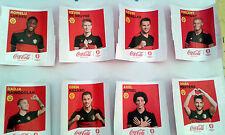 STICKERS PANINI & COCA COLA EURO 2016  LES JOUEURS à la pièce