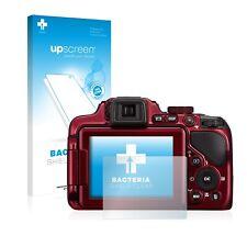 upscreen Pellicola Protettiva Antibatterica per Nikon Coolpix P600 Proteggi