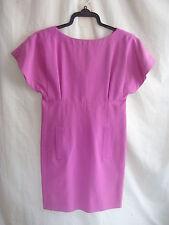 Ladies Dress - Karl Lagerfeld, size 8/36, pink, textured, vintage, smock - 2360
