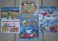 Malbücher - Weihnachten &..., Din A 5, 12 Blatt, Basteln Malen Spaß Kinder Grätz