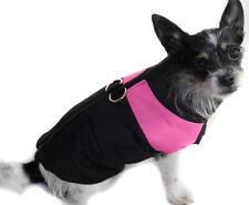 Hundejacke Hund Mantel XS S M L Weste schwarz rosa Neu Winter warm