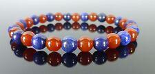 Carnelian Lapis Lazuli Gemstone Bracelet