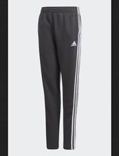Trousers Adidas Child CF6594 Yb 3S ft Pant Grey Carbon Suit Original New