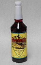 Raspberry Syrup 32oz. Barcarola Compatable with  Coffee