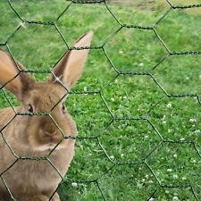 Grillage jardin maille 25mm, 6 tailles, clôture volière soudé plastique rigide