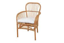8537 Rattansessel Rattanrohrsessel Sessel Relaxsessel Korbsessel Honigfarben