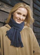 Ladies Scarf 155 x 25 cm cosy Anti-pilling Fleece scarf 81433 Charcoal