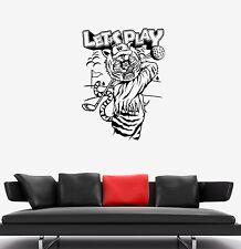 Wall Decal Animal Tiger Sport Golf Vacations Vinyl Sticker (ed714)
