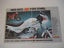 advertising Pubblicità 1985 MOTO GUZZI V35 IMOLA II