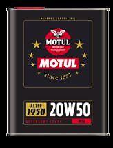 OLIO MOTUL 20W 50 AUTO E MOTO D' EPOCA 4 TEMPI 2 LITRI