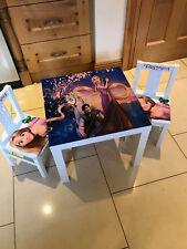 Childrens Disney Rapunzel Tangled Table & Chair Set