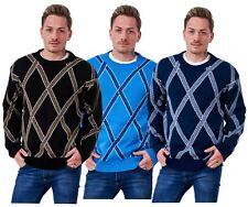 NEU Herren Strickpullover Cross Strick Pullover Casual warme Pullover Top M bis 5XL