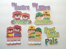 3D-U Pick- Fa1 Family Siblings Brother Sister Twins Card Scrapbook Embellishment