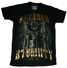 Emperor Vintage Shirt Gr. M L schwarz
