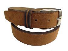 Cinturon de Piel Color  Marron MEDIDAS 95, 105 Y 115 CMS.