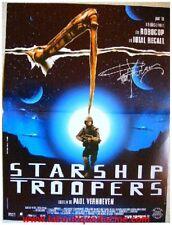 STARSHIP TROOPERS Affiche Cinéma Originale / Movie Poster PAUL VERHOEVEN