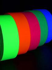 45m x 48mm UV Schwarzlicht Neon Klebeband Glow Tape Goa Blacklight Deko