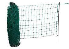 Kleintiernetz 65cm hoch versch. Längen elektrfizierbar Kaninchennetz Zaun Netz