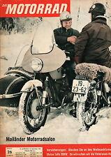 Motorrad 26/61 1961 AJS 350 TT Rallye Karl Hoppe Elefantentreffen Deutschland