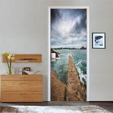3D Cloudy Sea 150 Door Wall Mural Photo Wall Sticker Decal Wall AJ WALLPAPER AU