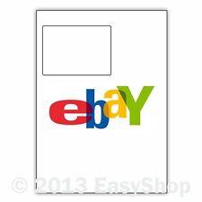 A4 Ebay 1 Integrated Invoice Sheet One Sticky Address Label Laser Inkjet Printer