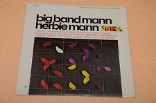 HERBIE MANN LP BIG BAND MANN 1°ST ORIG USA VERVE VSPS-21 TOP SEALED ! SIGILLATO