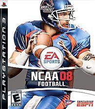 NCAA Football 08 (Sony PlayStation 3, 2007) Complete