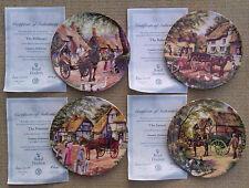 Royal Doulton-país entregas por Stephen Cummins-PLACA DEL COLECCIONISTA seleccionar