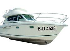 Boots Kennzeichen Bootsnummer 2 Stück FZ2895