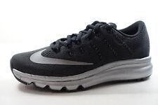 Nike pour femmes Air Max 2016 PRM Chaussures noires reflets argent 810886 001