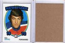 RON WARD 09/10 ITG 1972 *BLANK BACK* Rare SP #140 Parallel Hockey Card