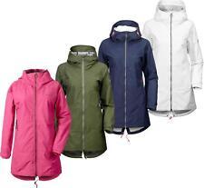 Didriksons Hilde Chaqueta Para Mujer Impermeable Transpirable Abrigo de longitud media