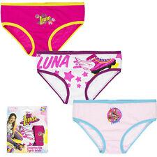 Soy Luna sous-vêtements fille SLIP CULOTTE 3 pièces 116-128 134-140 146-152 #154