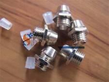 50PCS 3mm / 5mm Chrome Metal LED Bezel Holder Panel Display plastic