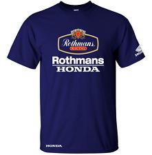 Classic Rothmans Honda Motor Bike LE MANS Ispirato T Shirt