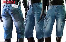 Designer Herren Jeans Shorts Cargo Bermuda Hose Chino Hosen