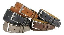 Classic Genuine Leather Office Career Dress Business Belt 1-3/8