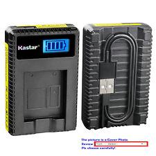 Kastar Battery LCD Charger for Canon NB-2L NB-2LH & Canon VIXIA HG10 VIXIA HV20